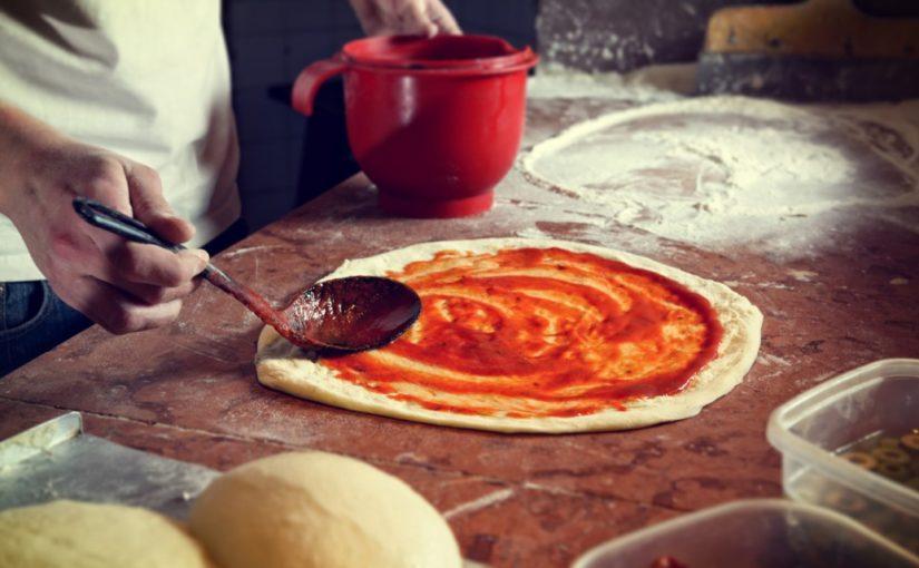 ciasto na pizze z drożdżami instant